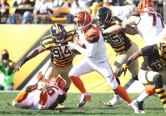 Cincinnati Bengals at Pittsburgh Steelers 11/1/15 NFL Score, Recap, News and Notes
