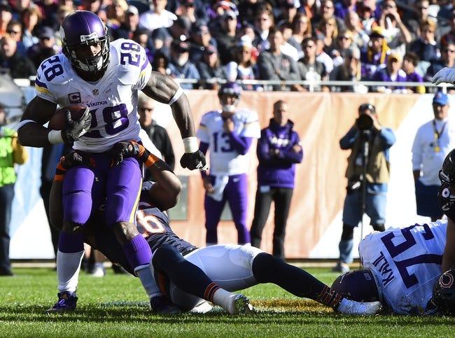 Minnesota Vikings vs. Chicago Bears - 12/20/15 NFL Pick, Odds, and Prediction
