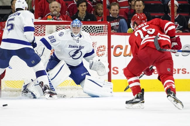 Hurricanes vs. Lightning - 2/21/16 NHL Pick, Odds, and Prediction