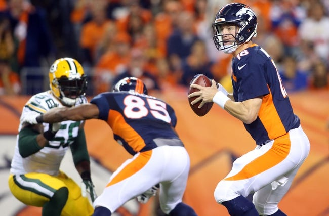 Green Bay Packers at Denver Broncos 11/1/15 NFL Score, Recap, News and Notes