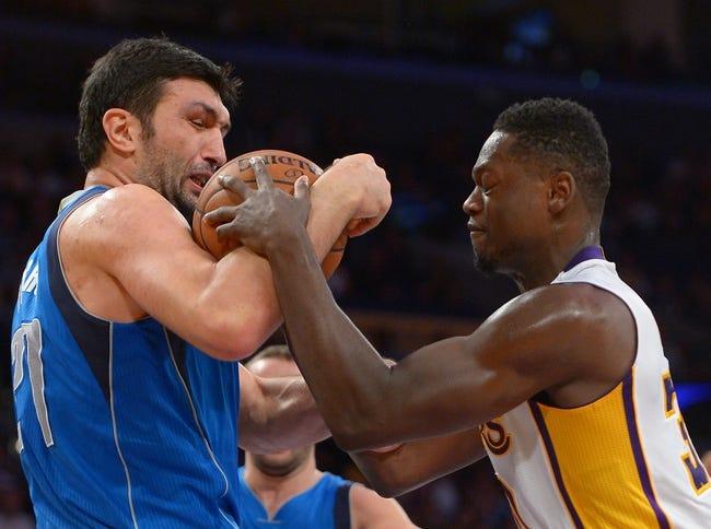 Dallas Mavericks vs. Los Angeles Lakers - 11/13/15 NBA Pick, Odds, and Prediction