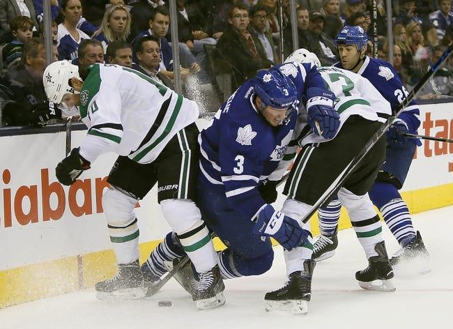 Dallas Stars vs. Toronto Maple Leafs - 11/10/15 NHL Pick, Odds, and Prediction