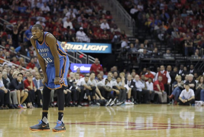 Raptors at Thunder - 11/4/15 NBA Pick, Odds, and Prediction