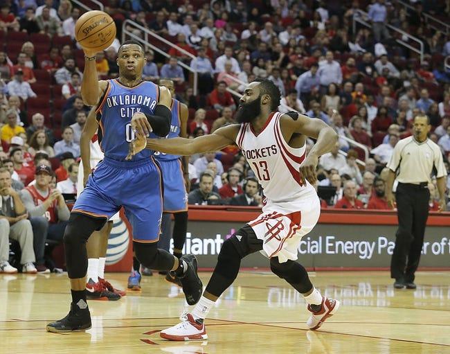Thunder vs. Rockets - 1/29/16 NBA Pick, Odds, and Prediction