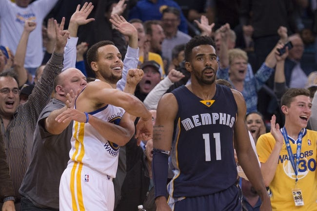 Memphis Grizzlies vs. Golden State Warriors - 11/11/15 NBA Pick, Odds, and Prediction