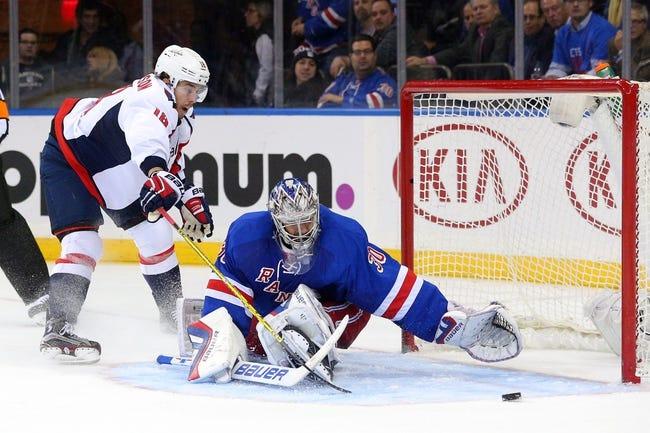 New York Rangers vs. Washington Capitals - 12/20/15 NHL Pick, Odds, and Prediction