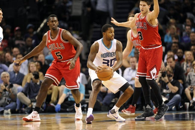 Chicago Bulls vs. Charlotte Hornets - 11/13/15 NBA Pick, Odds, and Prediction