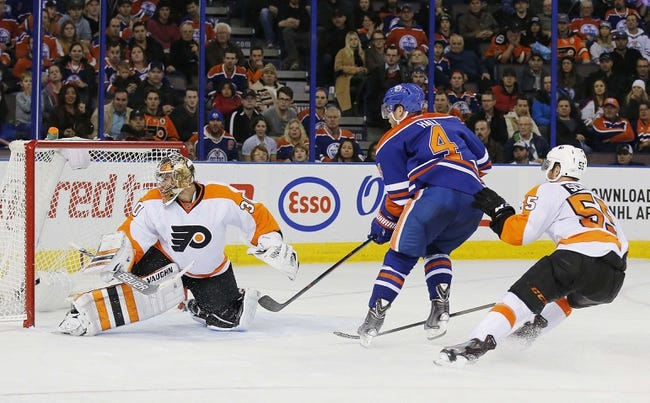 Flyers vs. Oilers - 3/3/16 NHL Pick, Odds, and Prediction
