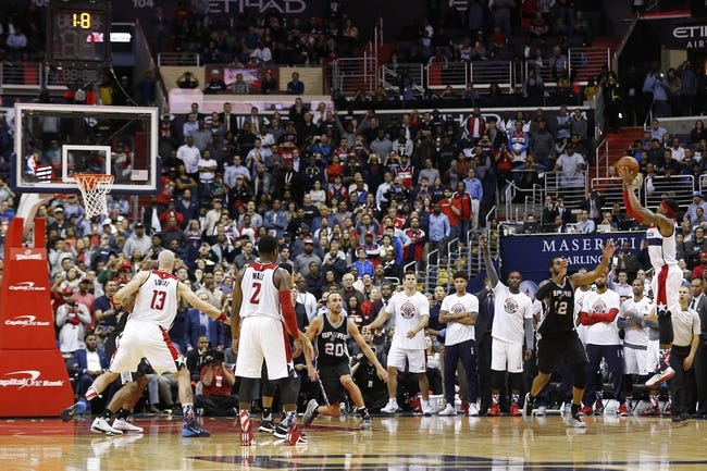 San Antonio Spurs vs. Washington Wizards - 12/16/15 NBA Pick, Odds, and Prediction