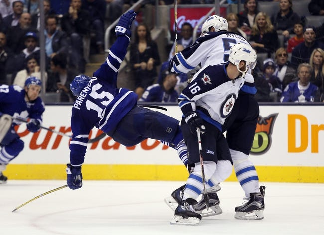Winnipeg Jets vs. Toronto Maple Leafs - 12/2/15 NHL Pick, Odds, and Prediction