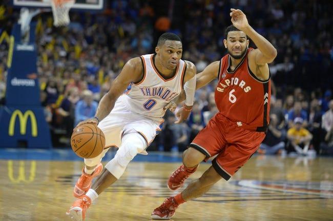 Raptors vs. Thunder - 3/28/16 NBA Pick, Odds, and Prediction