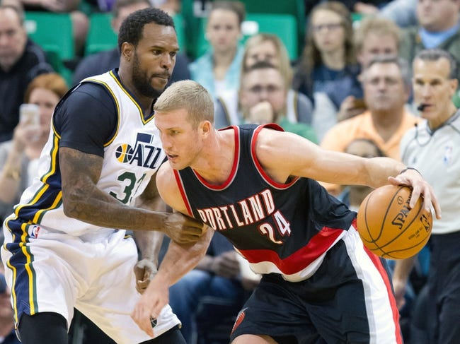 Trail Blazers at Jazz - 12/31/15 NBA Pick, Odds, and Prediction