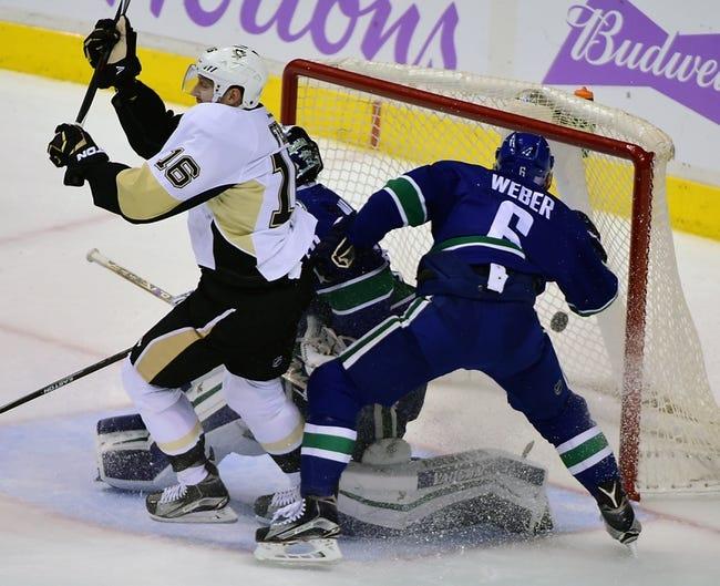 Penguins vs. Canucks - 1/23/16 NHL Pick, Odds, and Prediction
