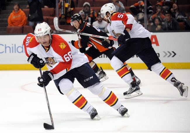 Florida Panthers vs. Anaheim Ducks - 11/19/15 NHL Pick, Odds, and Prediction