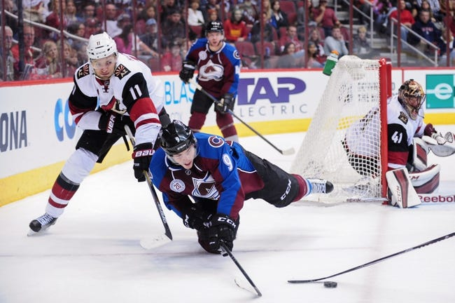 Avalanche vs. Coyotes - 3/7/16 NHL Pick, Odds, and Prediction