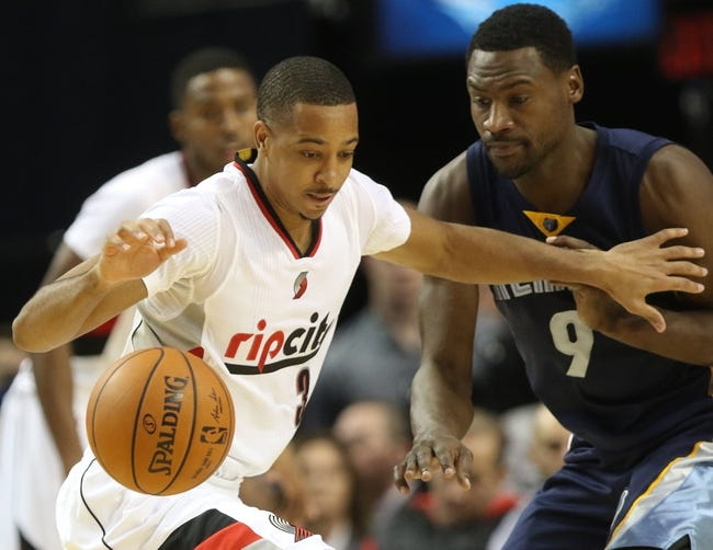 Memphis Grizzlies vs. Portland Trail Blazers - 11/13/15 NBA Pick, Odds, and Prediction