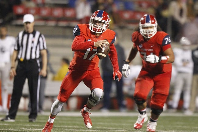 BYU Cougars vs. Fresno State Bulldogs - 11/21/15 College Football Pick, Odds, and Prediction