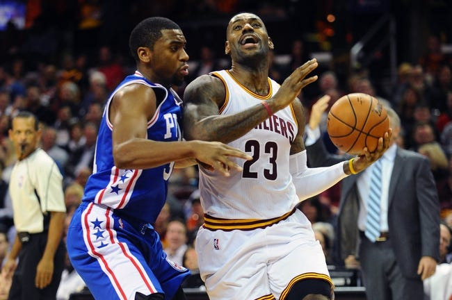 76ers at Cavaliers - 12/20/15 NBA Pick, Odds, and Prediction