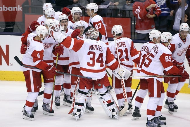 Detroit Red Wings vs. Toronto Maple Leafs - 3/13/16 NHL Pick, Odds, and Prediction