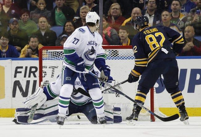 Vancouver Canucks vs. Buffalo Sabres - 12/7/15 NHL Pick, Odds, and Prediction