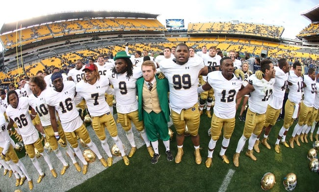 Notre Dame Fighting Irish vs. Wake Forest Demon Deacons - 11/14/15 College Football Pick, Odds, and Prediction