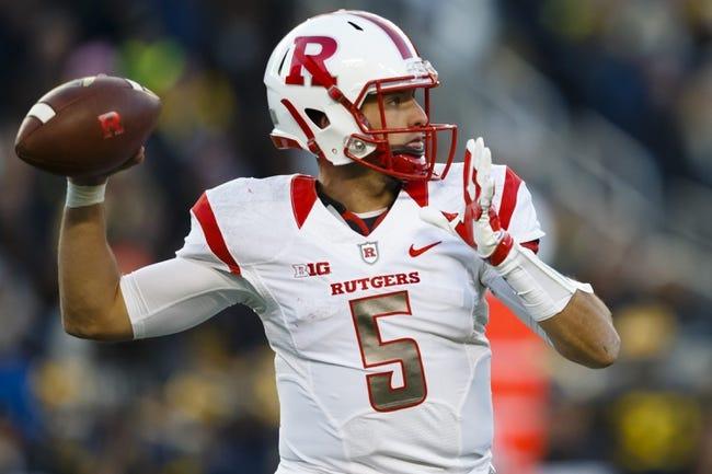 Rutgers vs. Nebraska - 11/14/15 College Football Pick, Odds, and Prediction