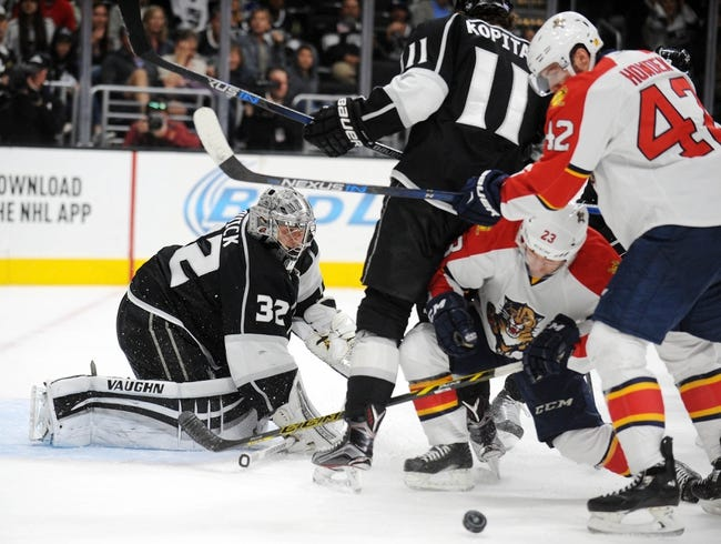 Florida Panthers vs. Los Angeles Kings - 11/23/15 NHL Pick, Odds, and Prediction