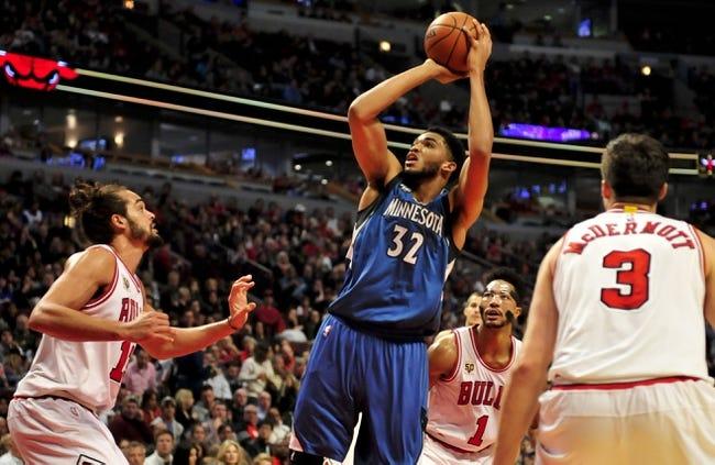 Timberwolves vs. Bulls - 2/6/16 NBA Pick, Odds, and Prediction