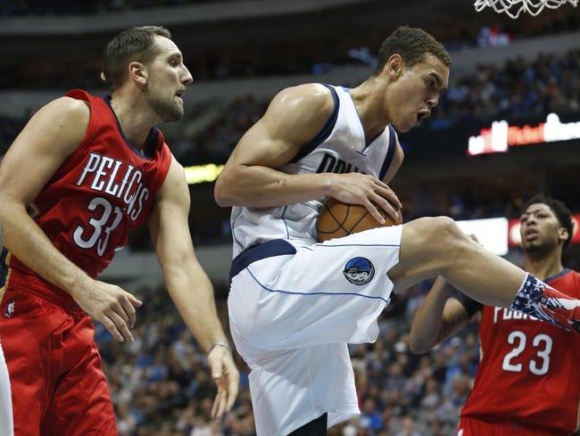 New Orleans Pelicans vs. Dallas Mavericks - 11/10/15 NBA Pick, Odds, and Prediction