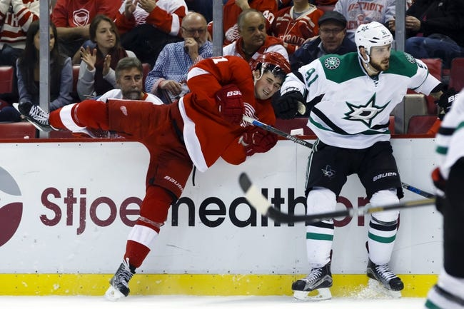Stars vs. Red Wings - 2/29/16 NHL Pick, Odds, and Prediction