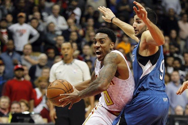 Minnesota Timberwolves vs. Atlanta Hawks - 11/25/15 NBA Pick, Odds, and Prediction