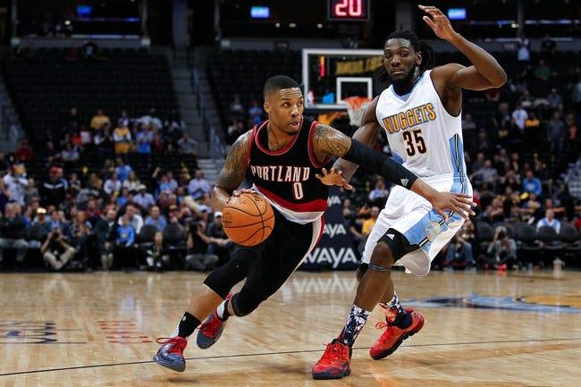 Portland Trail Blazers vs. Denver Nuggets - 12/30/15 NBA Pick, Odds, and Prediction
