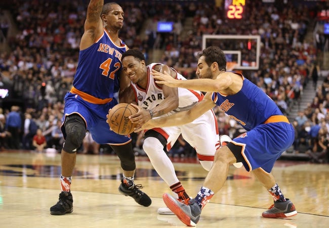 Knicks at Raptors - 1/28/16 NBA Pick, Odds, and Prediction