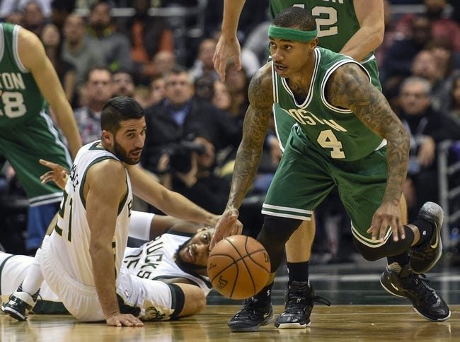 Boston Celtics Milwaukee Bucks - 2/9/16 NBA Pick, Odds, and Prediction