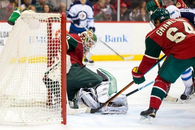 Minnesota Wild vs. Winnipeg Jets - 11/27/15 NHL Pick, Odds, and Prediction