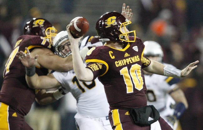 Kent State Golden Flashes vs. Central Michigan Chippewas - 11/18/15 College Football Pick, Odds, and Prediction