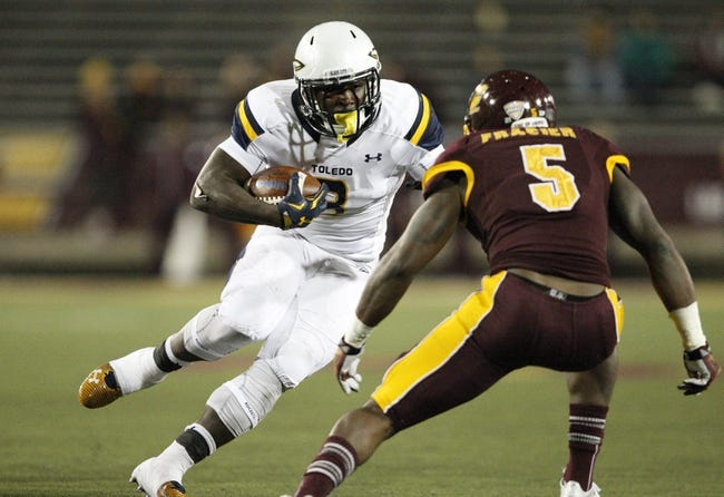 Central Michigan vs. Toledo - 10/14/17 College Football Pick, Odds, and Prediction