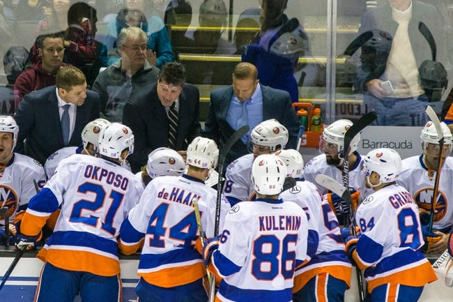 New York Islanders vs. San Jose Sharks - 10/18/16 NHL Pick, Odds, and Prediction