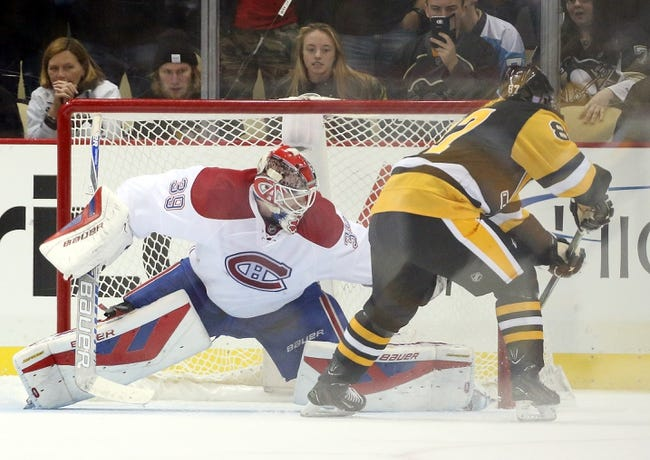 Canadiens vs. Penguins - 1/9/16 NHL Pick, Odds, and Prediction