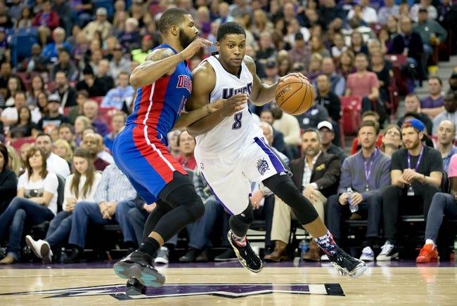 Pistons vs. Kings - 3/18/16 NBA Pick, Odds, and Prediction