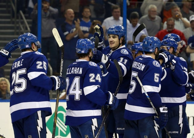 Calgary Flames vs. Tampa Bay Lightning - 1/5/16 NHL Pick, Odds, and Prediction