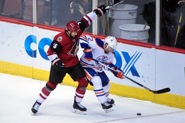 Oilers vs. Coyotes - 1/2/16 NHL Pick, Odds, and Prediction