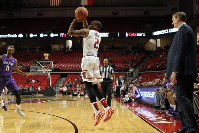 Texas Tech Red Raiders vs. Hawaii Warriors - 11/28/15 College Basketball Pick, Odds, and Prediction