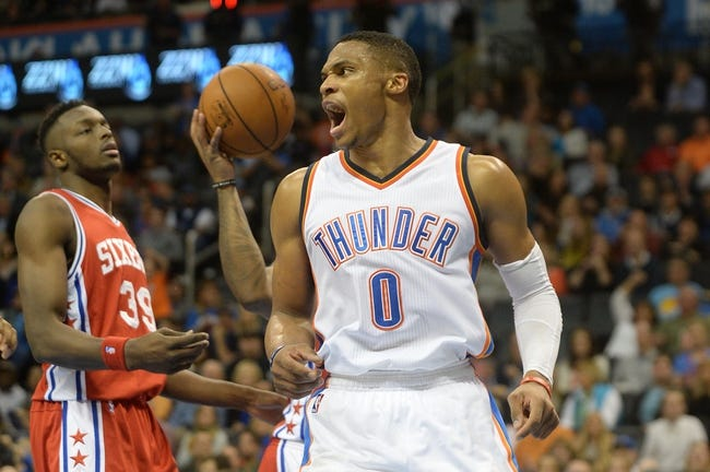 Philadelphia 76ers vs. Oklahoma City Thunder - 3/18/16 NBA Pick, Odds, and Prediction