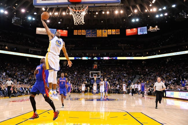 Pistons vs. Warriors - 1/16/16 NBA Pick, Odds, and Prediction