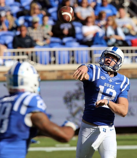 Virginia Cavaliers vs. Duke Blue Devils - 11/21/15 College Football Pick, Odds, and Prediction