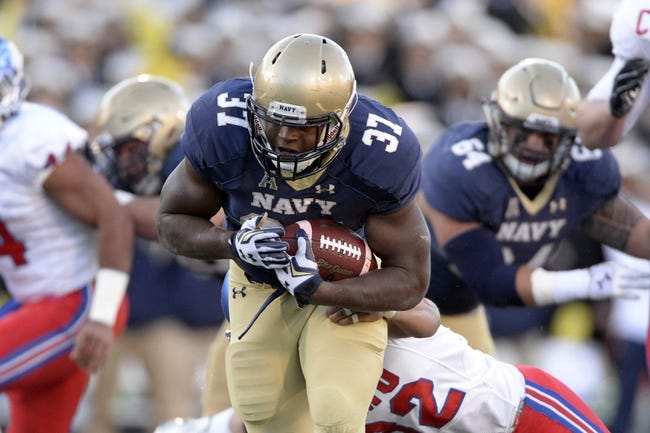 Tulsa Golden Hurricane vs. Navy Midshipmen - 11/21/15 College Football Pick, Odds, and Prediction