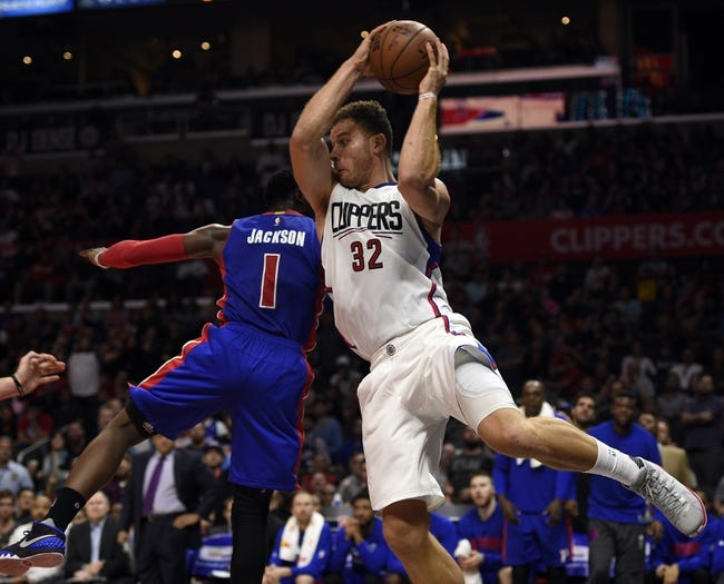 Detroit Pistons vs. Los Angeles Clippers - 12/14/15 NBA Pick, Odds, and Prediction