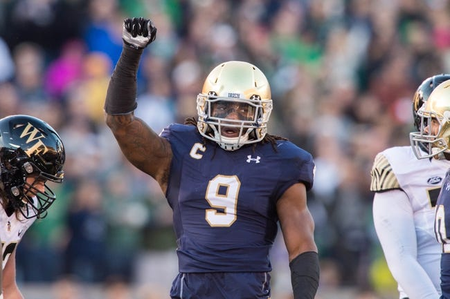Boston College Eagles vs. Notre Dame Fighting Irish - 11/21/15 College Football Pick, Odds, and Prediction