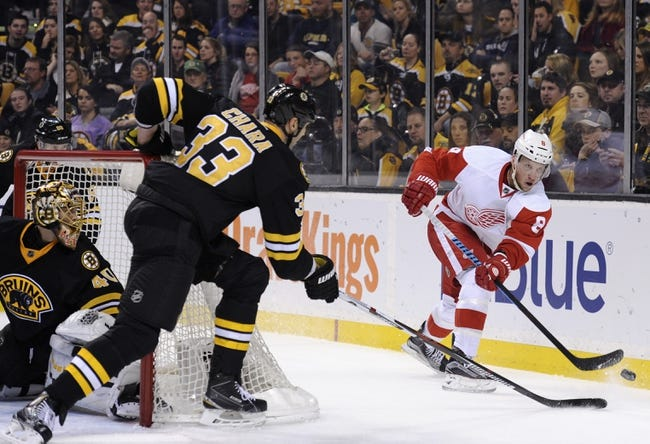 Detroit Red Wings vs. Boston Bruins - 11/25/15 NHL Pick, Odds, and Prediction